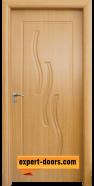 Интериорна врата модел 014-P, цвят Светъл дъб