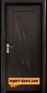 Интериорна врата модел 014-P, цвят Венге