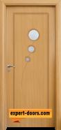 Интериорна врата модел 017, цвят Светъл дъб