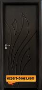 Интериорна врата модел 033-P, цвят Венге