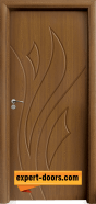 Интериорна врата модел 033-P, цвят Златен дъб