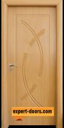Интериорна врата модел 056-P, цвят Светъл дъб