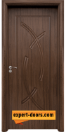 Интериорна врата модел 056-P, цвят Орех