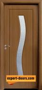 Интериорна врата модел 066, цвят Златен дъб
