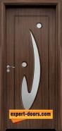 Интериорна врата модел 070, цвят Орех