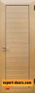 Алуминиева врата за баня, цвят Светъл дъб