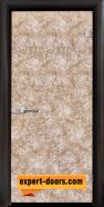 Стъклена интериорна врата Fabric G 12-1 Gold, каса Венге