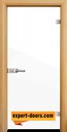 Стъклена интериорна врата Folio G 15-1, каса Светъл дъб