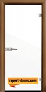 Стъклена интериорна врата Folio G 15-1, каса Златен дъб