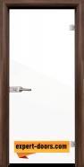 Стъклена интериорна врата Folio G 15-1, каса Орех