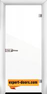 Стъклена интериорна врата Folio G 15-1, каса Бяла