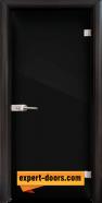 Стъклена интериорна врата Folio G 15-2, каса Венге