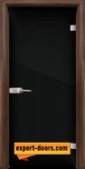 Стъклена интериорна врата Folio G 15-2, каса Орех