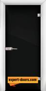 Стъклена интериорна врата Folio G 15-2, каса Бяла