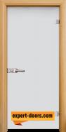 Стъклена интериорна врата Matt G 11, каса Светъл дъб