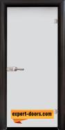 Стъклена интериорна врата Matt G 11, каса Венге