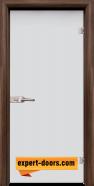 Стъклена интериорна врата Matt G 11, каса Орех