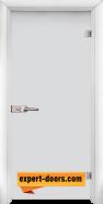 Стъклена интериорна врата Matt G 11, каса Бяла