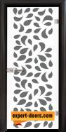 Стъклена интериорна врата Print G 13-1, каса Венге