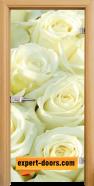 Стъклена интериорна врата Print G 13-6, каса Светъл дъб