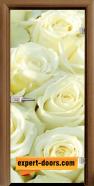 Стъклена интериорна врата Print G 13-6, каса Златен дъб
