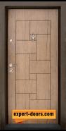 Блиндирана входна врата модел T-100, панел Антик