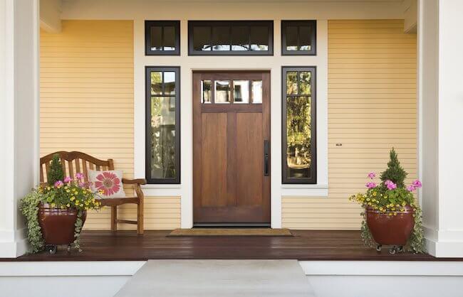 Кога да се монтира входната врата