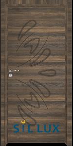 Интериорна врата Sil Lux 3011P Райски орех