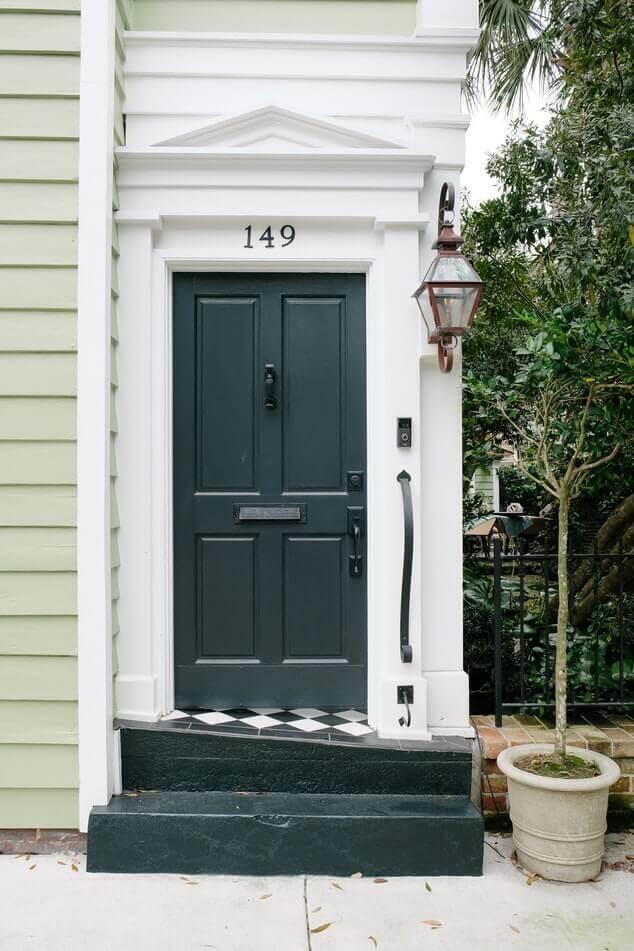 Front Door Gray